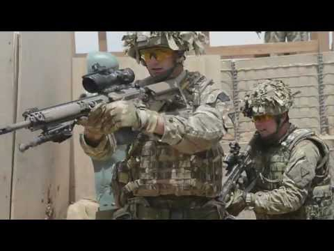 British Army Close Quarters Battle Training Image 1