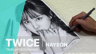 TWICE - Nayeon | Drawing Time Lapse