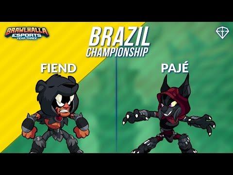 Fiend vs Pajé - BRZ 1v1 Top 8 - Brazil Championship