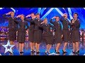 Wartime Choir The D Day Darlings DAZZLE The Judges! | Auditions | BGT 2018