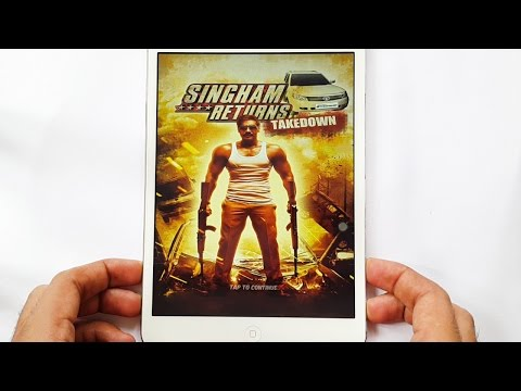 Singham Returns: Takedown Gameplay iOS & Android iPhone & iPad HD