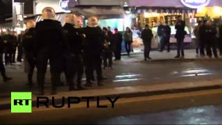 Turkey, Riot police flush protesters off the streets  3/2/14