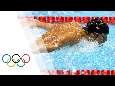 Michael Phelps Wins Gold - Men s 100m Butterfly Full Event | London 2012 Olympics
