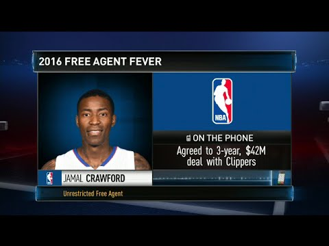 Jamal Crawford returning to Los Angeles Clippers on 3-year, $42 million deal