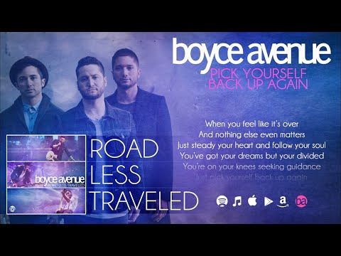download lagu Boyce Avenue - Pick Yourself Back Up Again   On Spotify & ITunes gratis