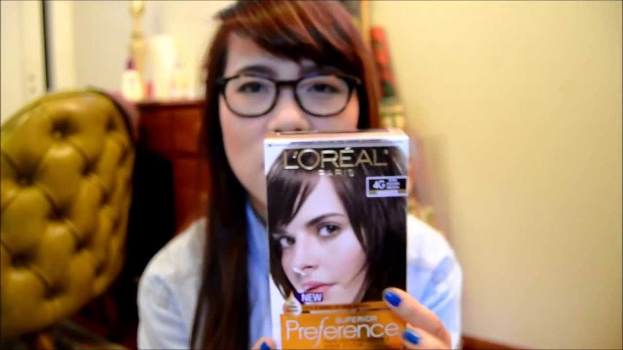 Dyeing Hair From Black To Brown Loreal Paris Superior