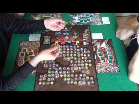 Undermining - играем в настольную игру