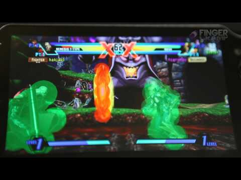 Nova and Nemesis Hitboxes Ultimate Marvel Vs Capcom 3