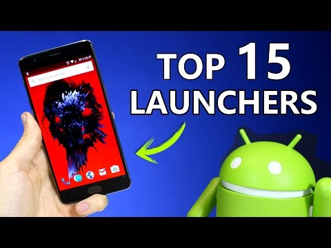 TOP 15 Mejores LAUNCHERS para Android 2017