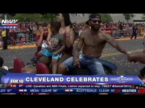 FNN: Cleveland Cavaliers - 2016 NBA Champs - Victory Parade feat. Lebron James