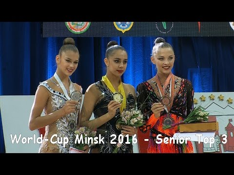 World-Cup Minsk 2016 - Senior Top-3