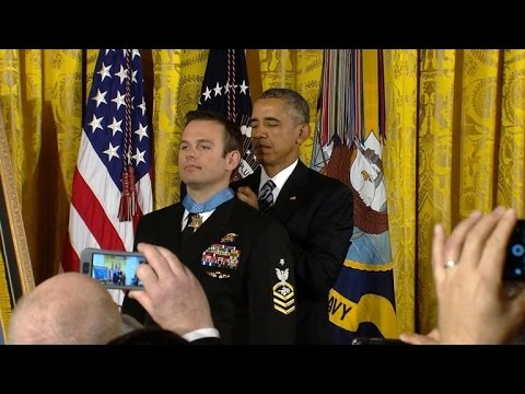 Navy SEAL Receives Medal of Honor For Rescuing American Hostage