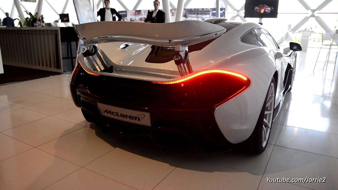 €1.1 Million McLaren P1 - Engine Sound! - YouTube