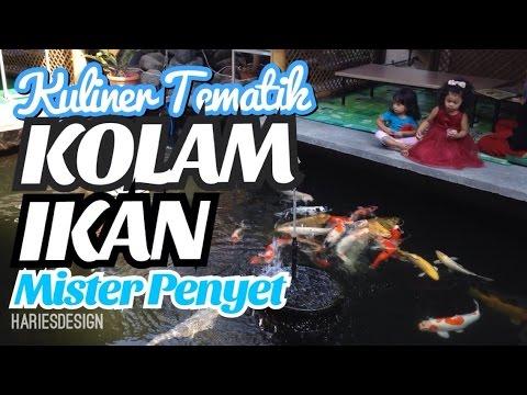 Kuliner Tematik Kolam Ikan Koi di Kota Malang