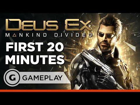 First 20 Minutes of Deus Ex: Mankind Divided