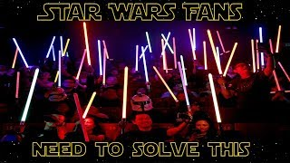 The Unsolved Star Wars Problem