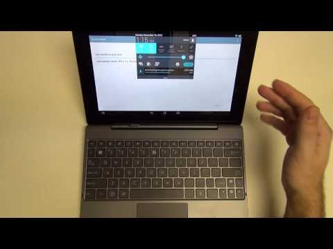 Asus Transformer Pad TF701 4.3 Jelly Bean Update and Review