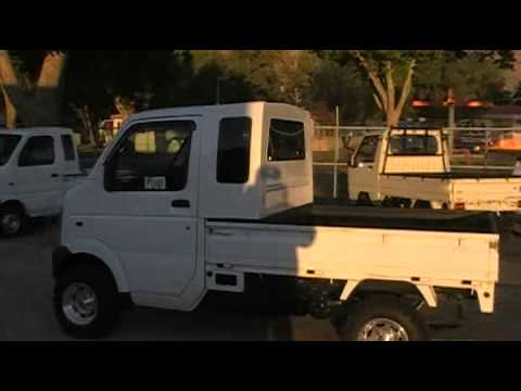 2004 suzuki carry extra cab 4x4 youtube. Black Bedroom Furniture Sets. Home Design Ideas