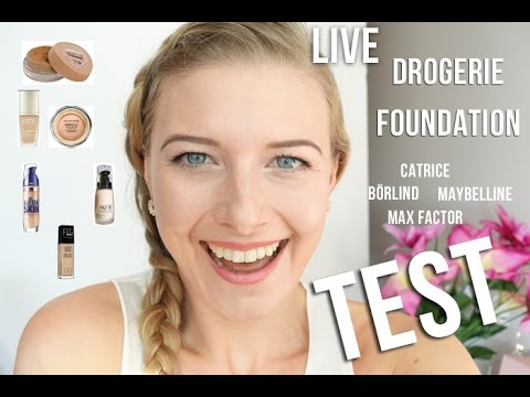 MEGA Drogerie FOUNDATION Vergleich LIVE TEST & REVIEW   sooohhalt