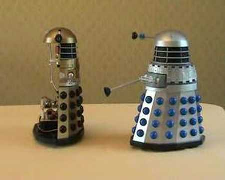 Voice Recognition Dalek