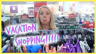SHOPPING FOR VACATION!!!!!