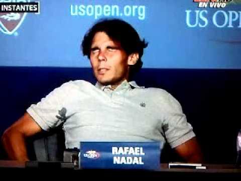 Rafael Nadal y sus Calambres