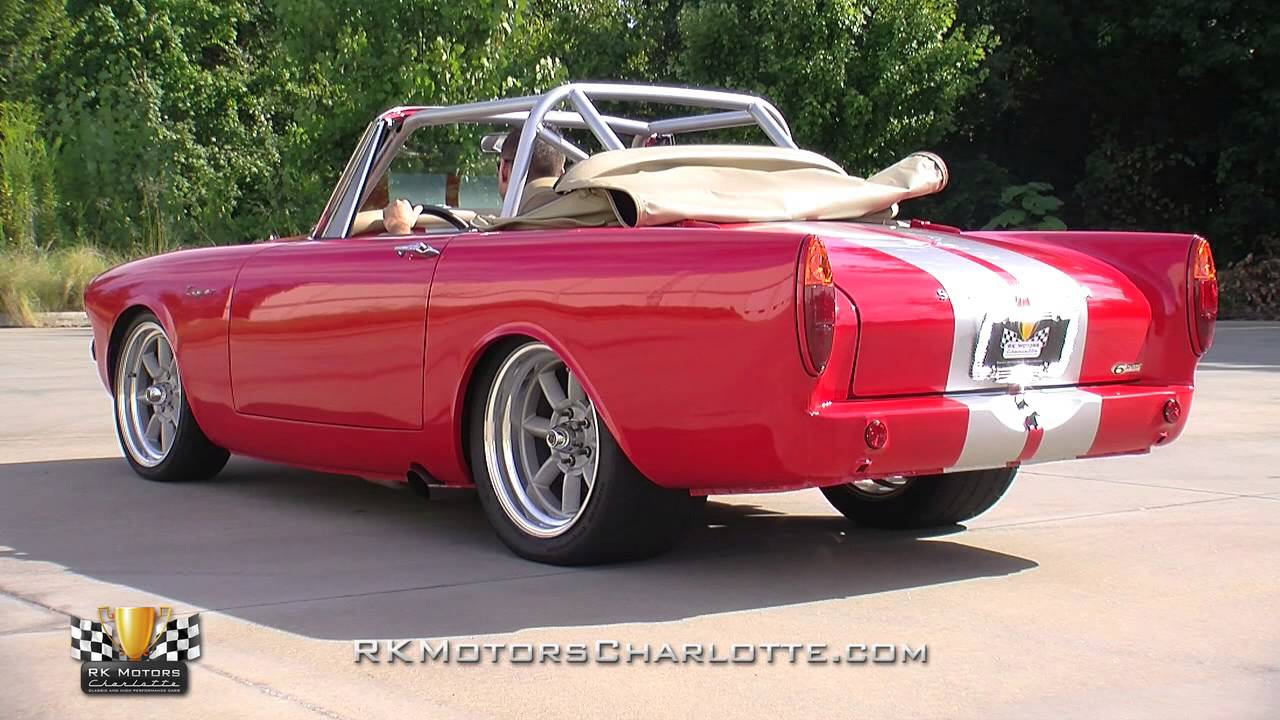Car For Sale Sign >> 134380 / 1967 Sunbeam Tiger - YouTube