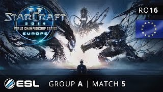 Mvp vs. MMA - Group A Ro16 Decider - WCS Europe 2014 Season 1 - StarCraft 2