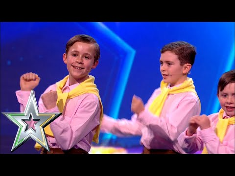 The Wee Daniels pay tribute to Irish Crooner Daniel O'Donnell! | Ireland's Got Talent 2019