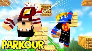 Minecraft: ESTOU MUITO MELHOR NO PARKOUR ‹ AMENIC ›