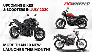 Upcoming Bike Launches In July 2020 | Honda, TVS, Royal Enfield, Suzuki, Kawasaki, Triumph & Yamaha!