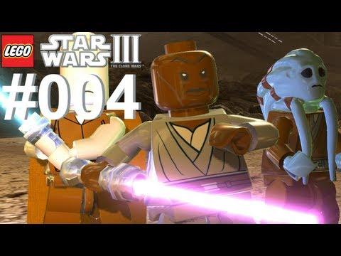 Let's Play LEGO Star Wars 3 The Clone Wars #004 Schlacht von Geonosis [Together] [Deutsch]