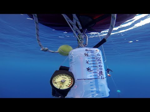 what happens to the lungs of a freediver during a deep dive, boyle´s law in action