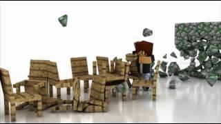 Minecraft Physics - 3D Animation