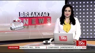 English News Bulletin – Jan 05, 2019 (8 am)