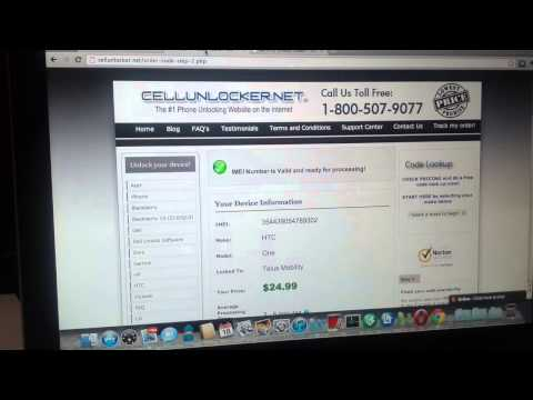 How to Unlock HTC One (M7) from Telus Mobility
