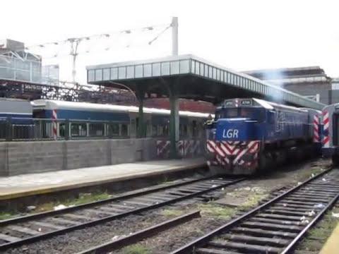 Movimiento de trenes Plaza Constitución (G12, G22, GR12 y GT22)