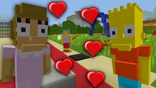 BART SIMPSONS GIRLFRIEND   MINECRAFT THE SIMPSONS   MINECRAFT XBOX ROLEPLAY [5]