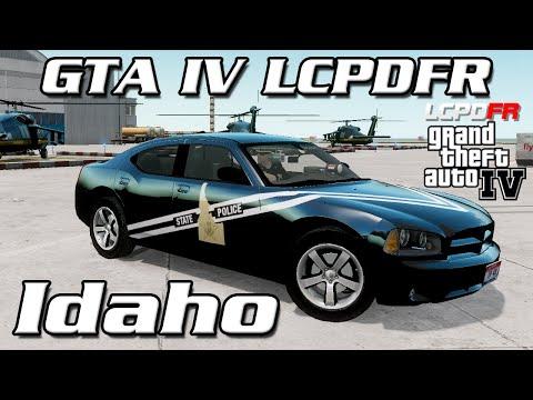 GTA IV LCPDFR MP - Idaho State Police - Officer MVA