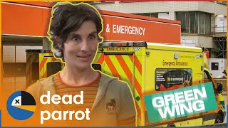 Caroline's First Day | Green Wing | Series 1 Episode 1 | Dead Parrot