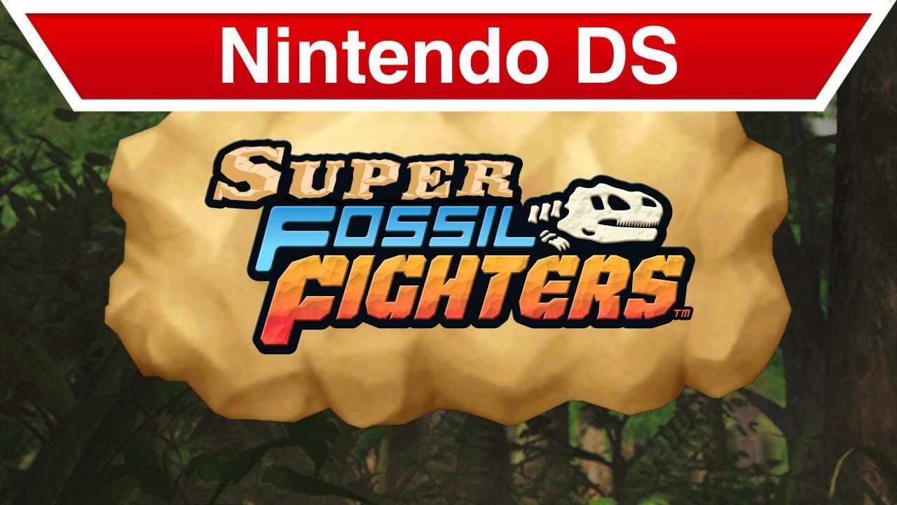 Fossil Fighters ds Nintendo ds Super Fossil