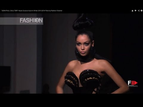 """JEAN PAUL GAULTIER"" Haute Couture Autumn Winter 2013 2014 Paris by Fashion Channel"