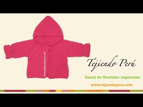 Saco con capucha para bebe de 6 a 9 meses