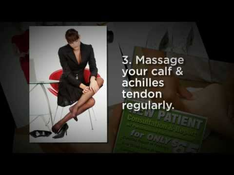 Mosman Chiropractor Tips: How To Minimise The Impact Of Wearing High Heeled Shoes