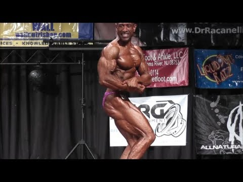 ANBF Jersey Shore Pro Bodybuilding Champion Posing Routine and Interview-AMAZING CONDITIONING AT 52!