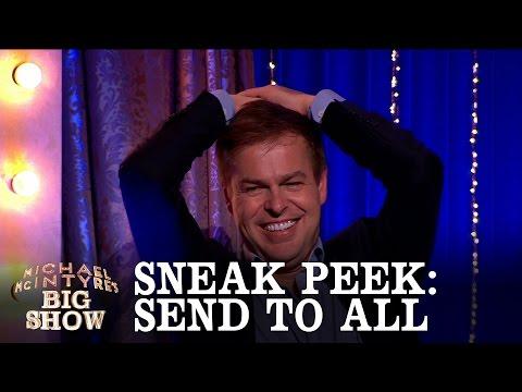 SNEAK PEEK: Send To All with Peter Jones - Michael McIntyre's Big Show: Episode 3