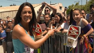 Bayley comes home: Exclusive, April 30, 2017