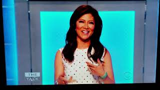 Julie Chen - Taped Goodbye Message on The Talk from the Big Brother set