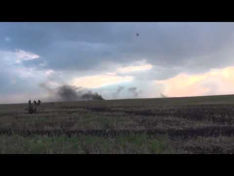 Offensive pro-Russian forces to the positions Ukrainian army