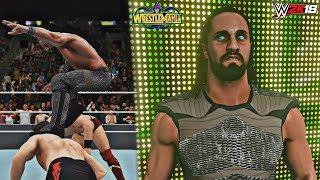 WWE 2K18 Wrestlemania 34: Seth Rollins Wins the Intercontinental Championship feat. Epic Mod!